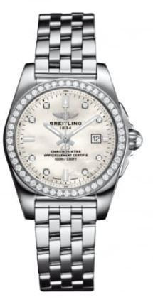 Breitling Galactic 29  Women's Watch A7234853/A785-791A