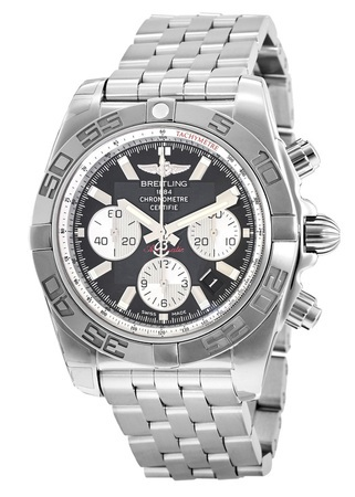 Breitling Chronomat 44 Black Dial Men's Watch AB011012/B967-375A