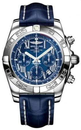 Breitling Chronomat 44  Men's Watch AB011012/C783-CROCD