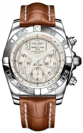 Breitling Chronomat 44  Men's Watch AB011012/G676-CROCD