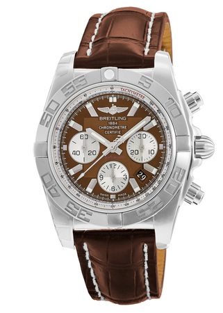 Breitling Chronomat 44  Men's Watch AB011012/Q575-CROCD