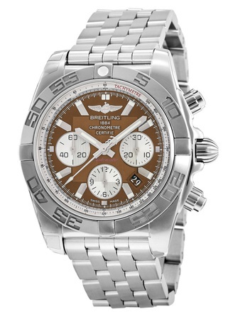 Breitling Chronomat 44  Men's Watch AB011012/Q575-SS