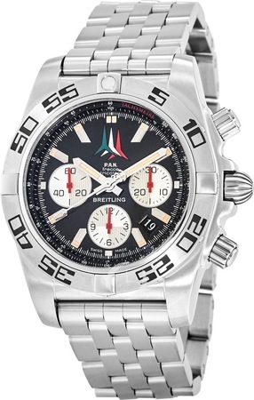 Breitling Chronomat 44 Frecce Tricolore Limited Edition Men's Watch AB01104D/BC62-377A