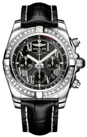 Breitling Chronomat 44  Men's Watch AB011053/B956-CROCD