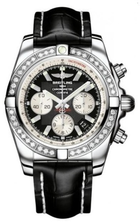 Breitling Chronomat 44  Men's Watch AB011053/B967-CROCD