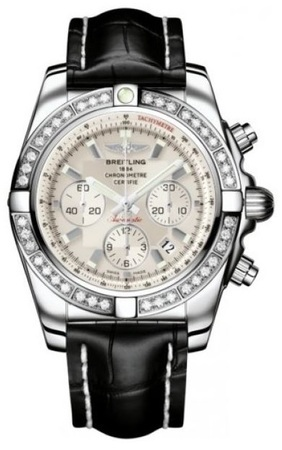 Breitling Chronomat 44  Men's Watch AB011053/G684-CROCT