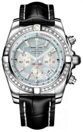 Breitling Chronomat 44  Men's Watch AB011053/G686-CROCD