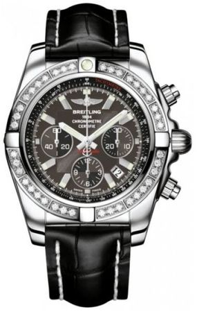 Breitling Chronomat 44  Men's Watch AB011053/M524-CROCD