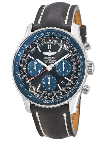 Breitling Navitimer 01 (43mm) Blue Black Limited Edition Men's Watch AB012116/BE09-435X
