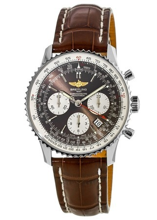 Breitling Navitimer 01 (46mm) Panamerican Limited Edition Bronze Men's Watch AB0121C4/Q605-740P