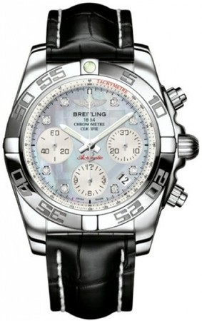 Breitling Chronomat 41  Men's Watch AB014012/G712-CROCD