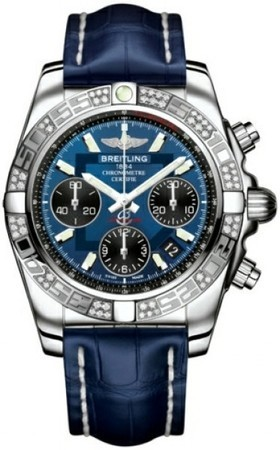 Breitling Chronomat 41  Men's Watch AB0140AA/C830-CROCD