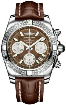 Breitling Chronomat 41  Men's Watch AB0140AA/Q583-CROCD