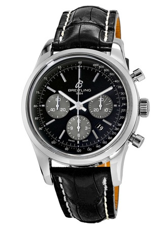 Breitling Transocean Chronograph  Men's Watch AB015212/BA99-CROC