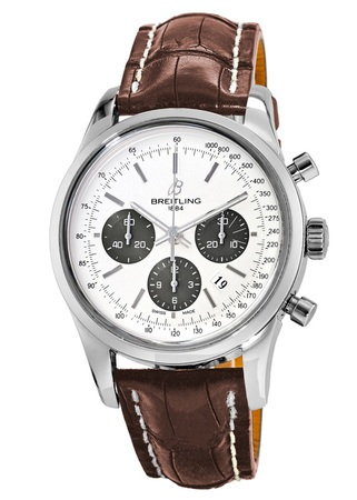 Breitling Transocean Chronograph  Men's Watch AB015212/G724-CROC