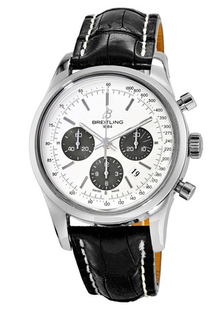 Breitling Transocean Chronograph  Men's Watch AB015212/G724-CROCD