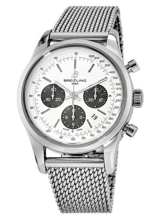 Breitling Transocean Chronograph  Men's Watch AB015212/G724-SS
