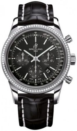 Breitling Transocean Chronograph  Men's Watch AB015253/BA99-743P