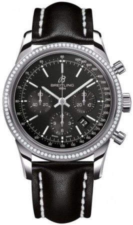 Breitling Transocean Chronograph  Men's Watch AB015253/BA99-LST