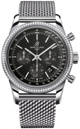 Breitling Transocean Chronograph  Men's Watch AB015253/BA99-SS