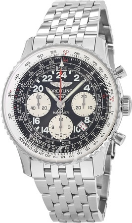 Breitling Navitimer Cosmonaute Automatic Steel Limited Edition Men's Watch AB021012/BB59-447A
