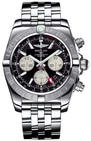 Breitling Chronomat 44 GMT  Men's Watch AB042011/BB56-375A
