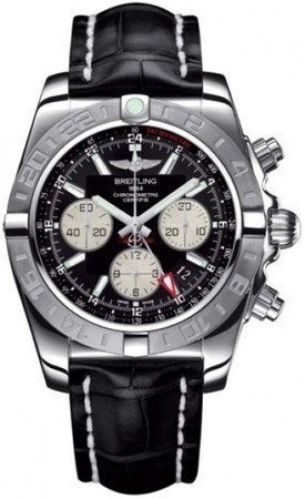 Breitling Chronomat 44 GMT  Men's Watch AB042011/BB56-CROCD