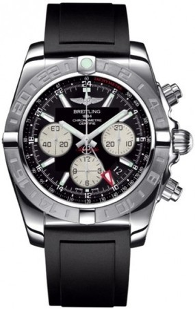 Breitling Chronomat 44 GMT  Men's Watch AB042011/BB56-DPT