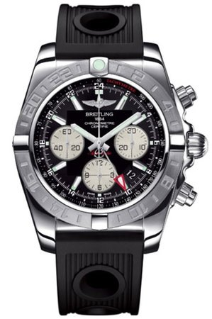 Breitling Chronomat 44 GMT  Men's Watch AB042011/BB56-ORD