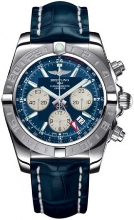 Breitling Chronomat 44 GMT  Men's Watch AB042011/C851-CROCD