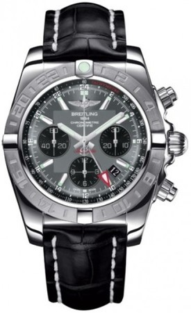 Breitling Chronomat 44 GMT  Men's Watch AB042011/F561-CROCD