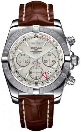 Breitling Chronomat 44 GMT  Men's Watch AB042011/G745-CROCD