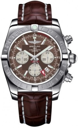 Breitling Chronomat 44 GMT  Men's Watch AB042011/Q589-CROCD