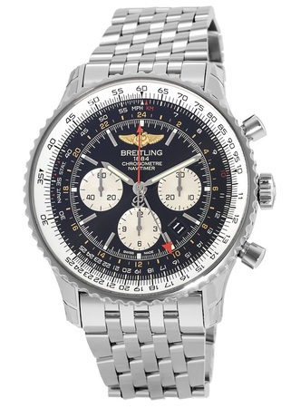 Breitling Navitimer GMT Caliber 04 Movement Men's Watch AB044121/BD24-443A