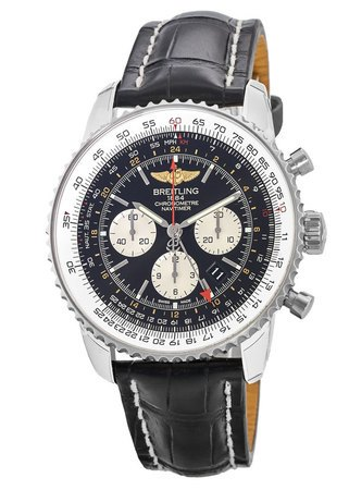 Breitling Navitimer GMT Caliber 04 Movement Men's Watch AB044121/BD24-760P