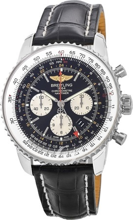 Breitling Navitimer GMT Caliber 04 Movement Men's Watch AB044121/BD24-761P