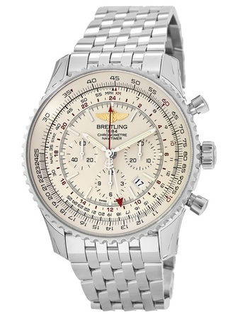 Breitling Navitimer GMT Caliber 04 Movement Men's Watch AB044121/G783-443A
