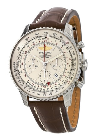 Breitling Navitimer GMT Caliber 04 Movement Men's Watch AB044121/G783-757P
