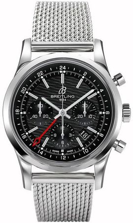 Breitling Transocean Chronograph GMT Limited Edition Men's Watch AB045112/BC67-154A