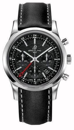 Breitling Transocean Chronograph GMT  Men's Watch AB045112/BC67-435X