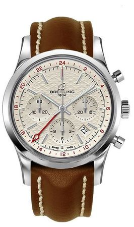 Breitling Transocean Chronograph GMT  Men's Watch AB045112/G772-437X