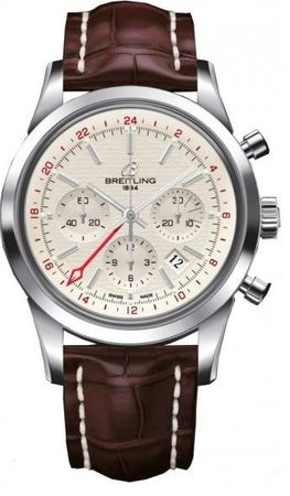 Breitling Transocean Chronograph GMT  Men's Watch AB045112/G772-740P