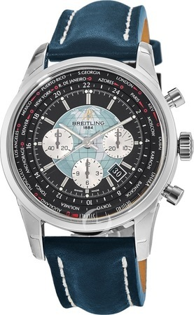 Breitling Transocean Chronograph Unitime  Men's Watch AB0510U4/BB62-101X