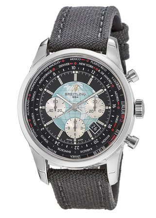 Breitling Transocean Chronograph Unitime  Men's Watch AB0510U4/BB62-104W