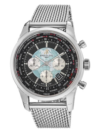 Breitling Transocean Chronograph Unitime  Men's Watch AB0510U4/BB62-152A