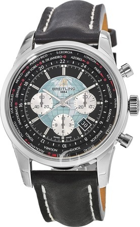 Breitling Transocean Chronograph Unitime  Men's Watch AB0510U4/BB62-441X