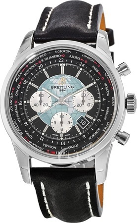 Breitling Transocean Chronograph Unitime  Men's Watch AB0510U4/BB62-LST