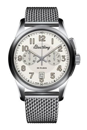 Breitling Transocean Chronograph 1915 Historical Limited Edition Men's Watch AB141112/G799-154A