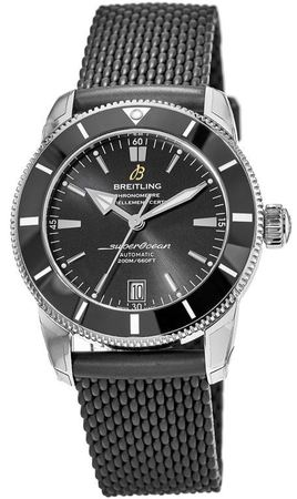 Breitling Superocean Heritage  Black Dial Black Rubber Men's Watch AB201012/BF73-279S