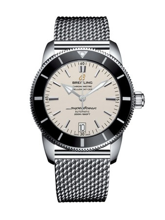 Breitling Superocean Heritage II 42 Silver Dial Stainless Steel Men's Watch AB201012/G827-154A
